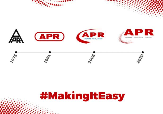 historia imagen corporativa APR